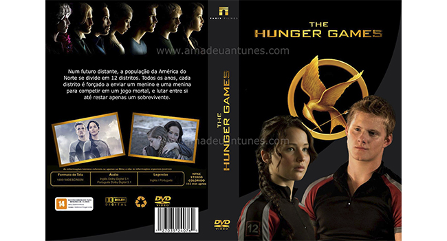 Photoshop The Hunger Games - Capa DVD